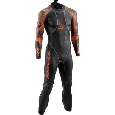 Combinaison Intégrale SAILFISH ATLANTIC Manches Longues Noir/Orange 2021